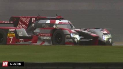 On a testé l'Audi R18 des 24h du Mans - Vidéo dailymotion