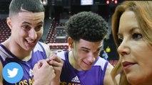 Kyle Kuzma Trolls Lakers on Twitter, Jeanie Buss Drops THREAT Tweet