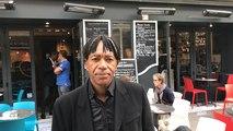 Patrice Loko au bar restaurant «Aux grands hommes» à Caen