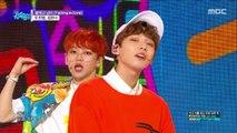 [HOT] WOO JIN YOUNG , KIM HYUN SOO  - Falling in love, 우진영, 김현수 - 설레고 난리  Music core 20180616