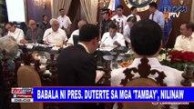 Babala ni Pangulong #Duterte sa mga 'tambay', nilinaw