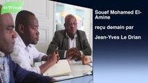 Le ministre comorien des affaires étrangères, Souef Mohamed El-Amine sera reçu demain par son homologue français, Jean-Yves Le Drian au Quai d'Orsay. Au menu de