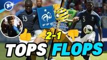 Les tops et flops de France-Australie