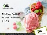 Activité commerciale A vendre Marseillan plage 27m2 - plages