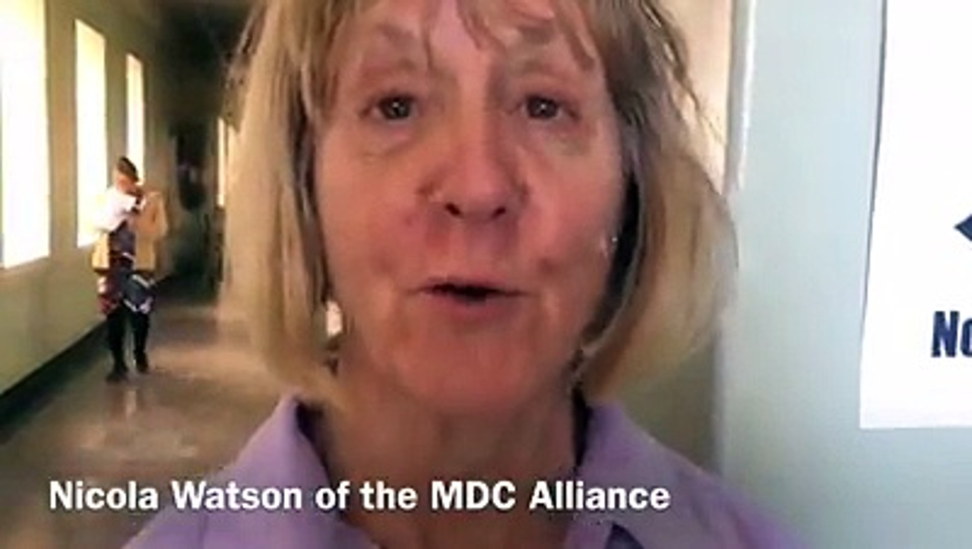 Nicola Watson, MDC Alliance candidate for Bulawayo Central for the National Assembly says she is con