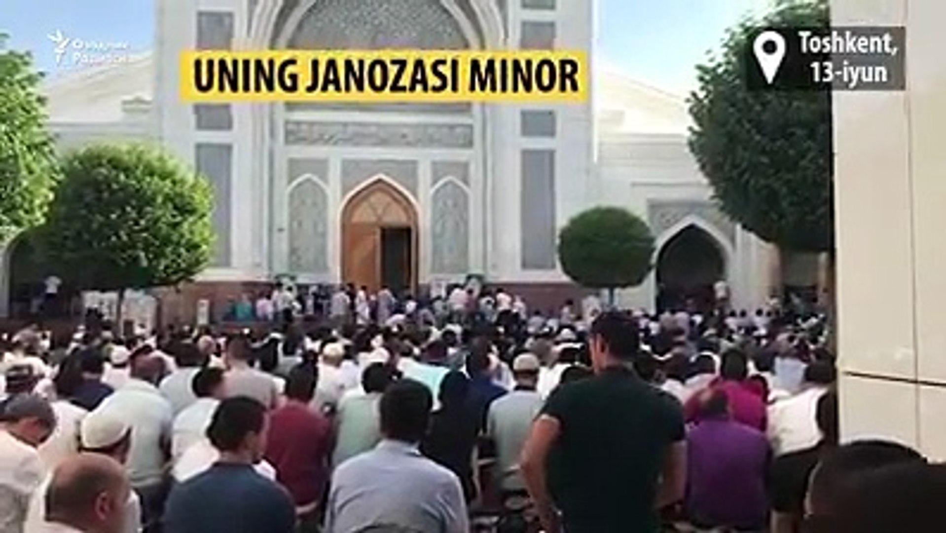 Вечером 13 июня в Ташкенте состоялись похороны главного имам-хатиба столицы Анвара-кори Турсунова. С 18:00 до 20:00 по местному времени в узбекской столице были