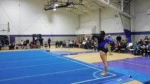 Brittany Capozzi Floor Exercise Bridgeport 2-12-16