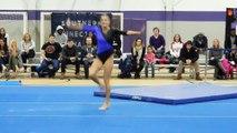 Randi Cutolo Floor Exercise Bridgeport 2-12-16