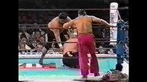 Riki Choshu/Yoshiaki Yatsu vs Kengo Kimura/Tatsutoshi Goto (New Japan January 4th, 1995)