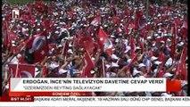 Erdoğan çağrıya yanıt verdi: Üzerimizden reyting sağlayacak... Ama reyting sonuçları öyle demiyor