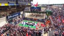 Le podium des 24 Heures du Mans 2018