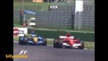 THE REVENGE MICHAEL SCHUMACHER VS FERNANDO ALONSO IMOLA 2006