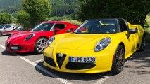 Alfa Romeo 4C Passion Meeting - 4C trifft Giulia und Stelvio
