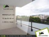 T3 65.00m2 A louer sur Marseille - 1 200 Euros/mois