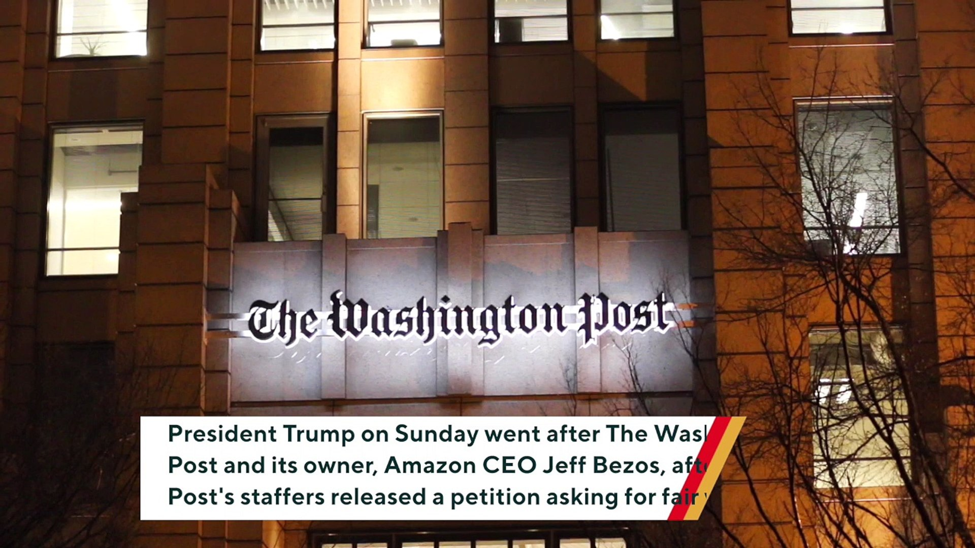 Trump Encourages Washington Post Staffers To Go On 'A Really Long Strike' To 'Get Rid