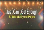 Black Eyed Peas Just Can't Get Enough Karaoke Version