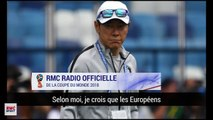 Le coach sud-coréen a changé les numéros de ses joueurs pour tromper les Suédois