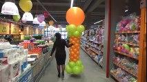 Globus продолжает радовать жителей Бишкека открытием новых магазинов!  Очередной большой гипермаркет Сеть Globus 1 июня торжественно открыт на пересечении Южно