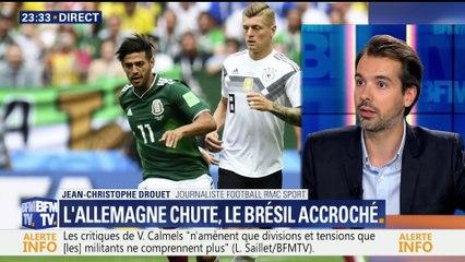 Coupe du monde 2018: les nations prétendument favorites peinent pour leur entrée en lice (2/2)