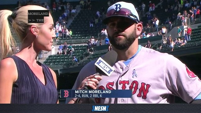 Red Sox Extra Innings: Mitch Moreland On Win In Series Finale Against Mariners