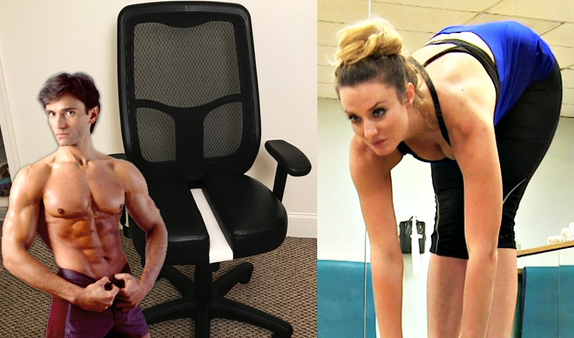 BREAKTHROUGH CHAIR ENDS BACK PAIN & BEST STRETCHING EXERCISES   Fit Now with Basedow