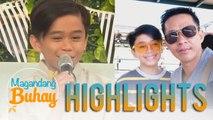 Magandang Buhay: Mackie Empuerto shares why his father discontinued joining singing contests