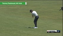 US Open shot of the day - Tommy Fleetwood
