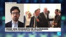 Ultimatum pour Merkel : correspondance de Luc André à Berlin