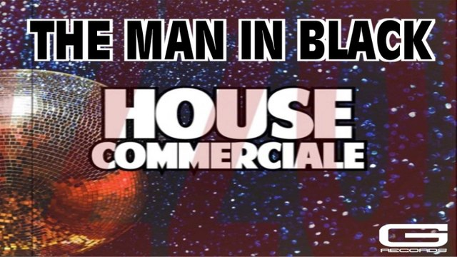 The Man in Black - Raven hair and