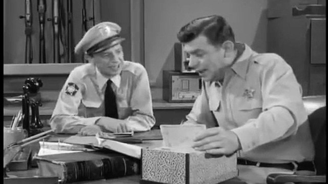 The Andy Griffith Show S03E27 Barneys First Car