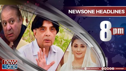 Newsone Headlines 8PM | 18-June-2018 |