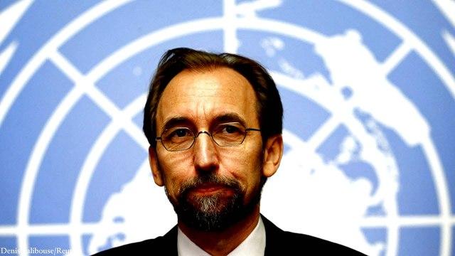 UN human rights chief al-Hussein makes final public address