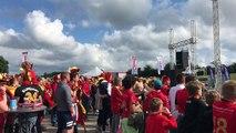 Chimay: plus de 2.000 personnes pour Belgique-Panama