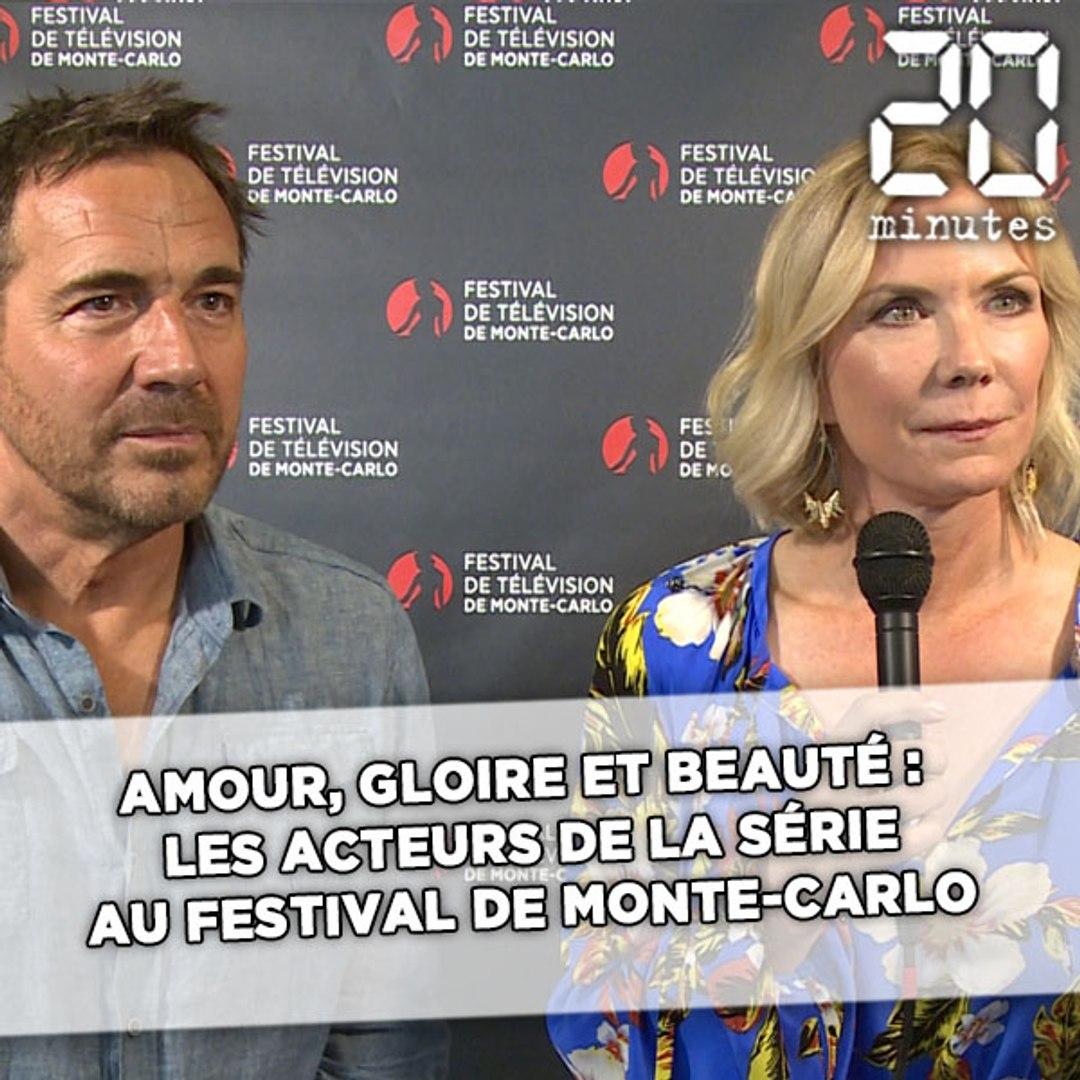 Amour Gloire Et Beauté Les Acteurs De La Série Au Festival De Monte Carlo