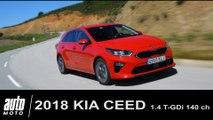 2018 Kia Ceed 1.4 T-GDI DCT7 Essai POV Auto-Moto.com