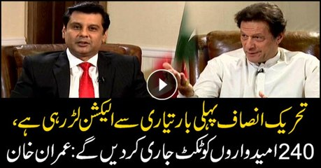 For the first time, PTI is fully prepared to contest polls, says Imran Khan
