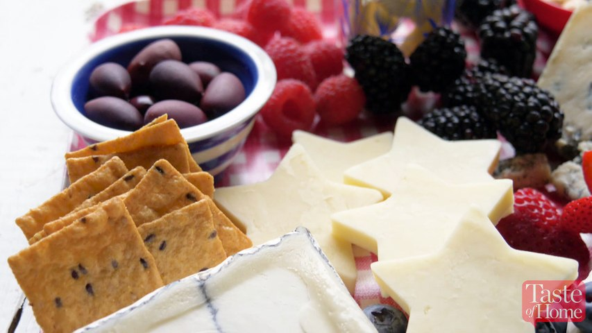 This Patriotic Cheese Board Will Be the Star of Your 4th of July Party