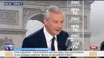 """Pour Bruno Le Maire, Les Républicains sont désormais """"une droite identitaire"""""""