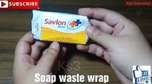 - Waste material reuse idea | Best out of waste | DIY art and crafts | recycling soap packets | craftCredit: Ks3 CreativeArtFull video: