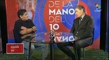 Nuevo saludo de Maradona a Nicaragua y al Presidente Daniel Ortega.#NicaraguaQuierePaz