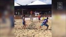 Beach Tennis, technique : conseils à propos du lob