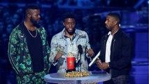 Chadwick Boseman Wins Top Acting Award At MTV Movie Awards