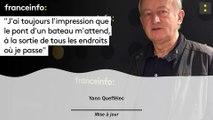 """Yann Queffélec :""""J'ai toujours l'impression que  le pont d'un bateau m'attend, à la sortie de tous les endroits où je passe"""""""