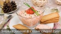 Smoked Salmon & Cream Cheese Pate - How to Make Smoked Salmon Spread