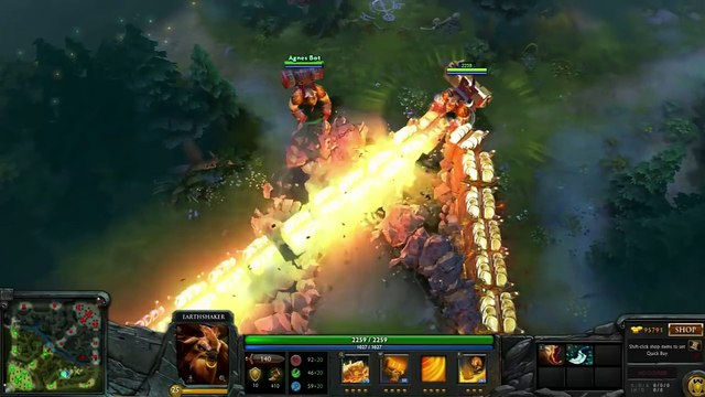Dota 2  Earthshaker Most Expensive Mix Set w/ Golden Gravelmaw (Also 3 other totem preview)