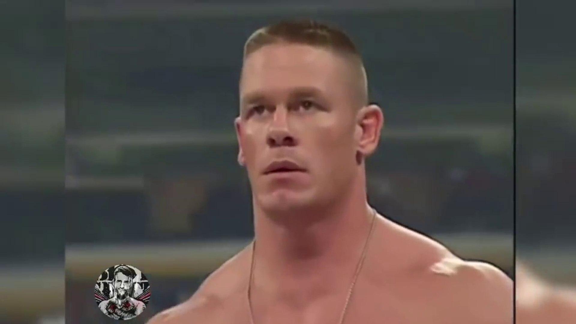 John Cena Vs Great Khali (WWE Championship on the line) جون سينا يواجه اضخم شخص في WWE (كالي) ! by w