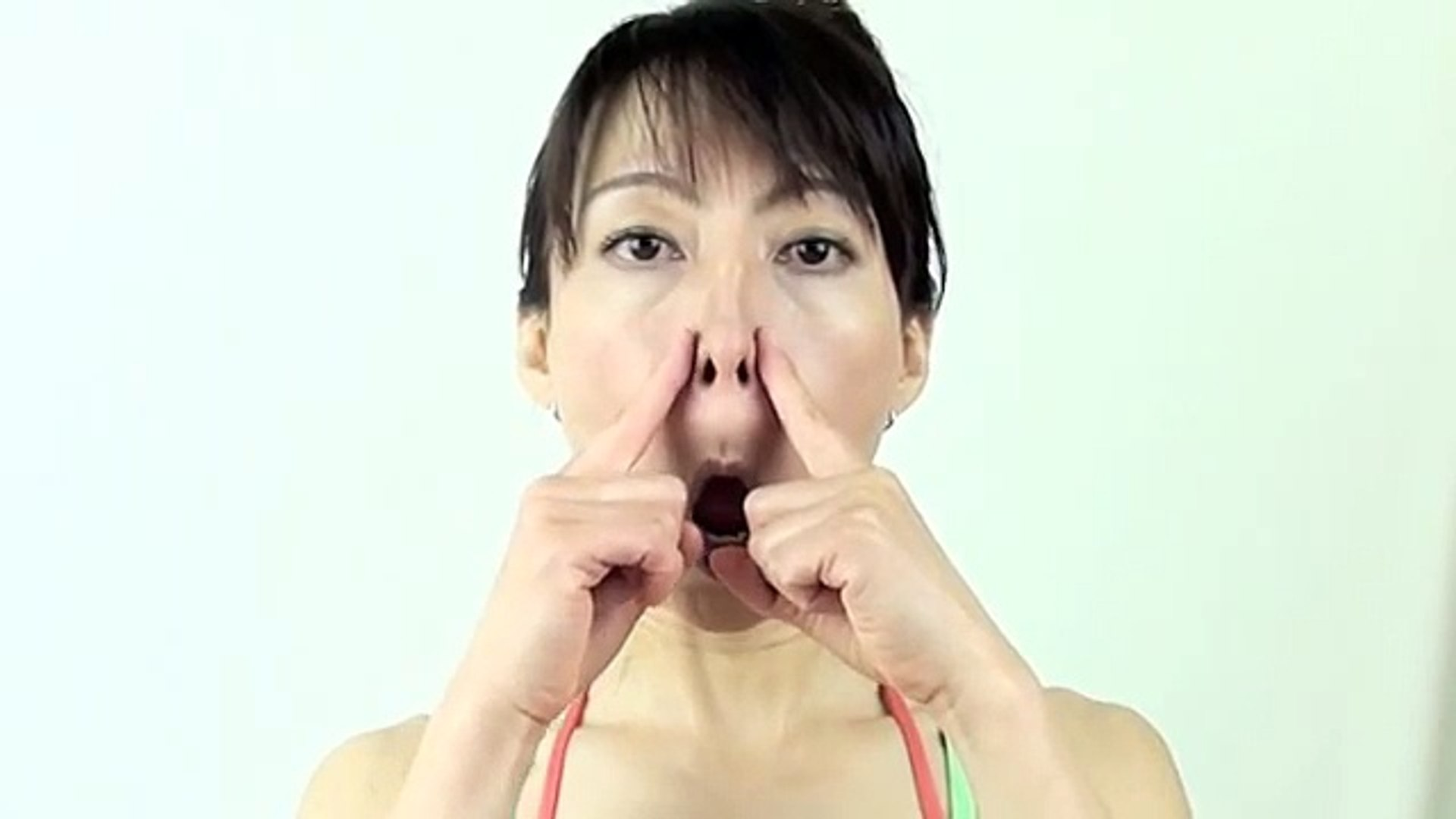 The Secret of Nose Reshaping Face Yoga Method