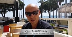 CANNES LIONS 2018 : Interview of Olivier Robert Murphy, Global Head of New Business at Universal Music Group