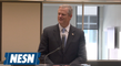 Governor Baker explains the true meaning of the Auerbach Center