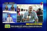 Selección peruana: André Carrillo preocupa en los entrenamientos en Rusia